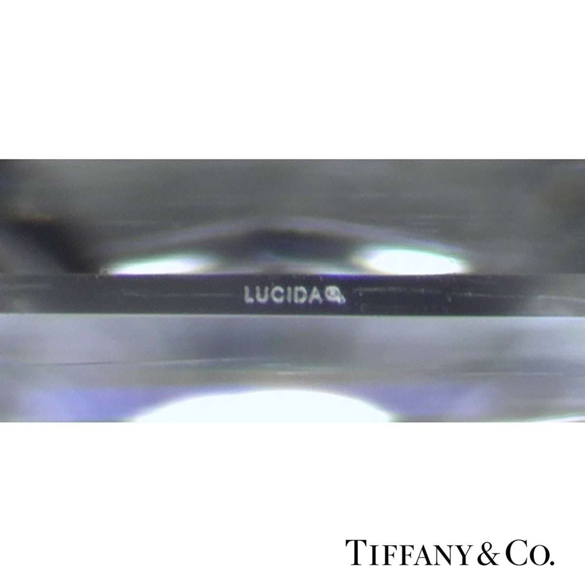 Tiffany & Co. Lucida Cut Diamond Ring 1.24ct I/VVS2